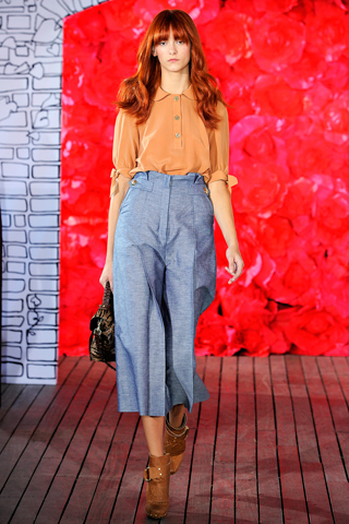 SS11 trend recap: new-season nudes and every-occasion denim