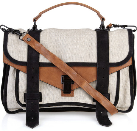 Lunchtime buy: PS1 linen satchel