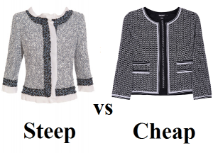 Steep vs Cheap Boucle jackets