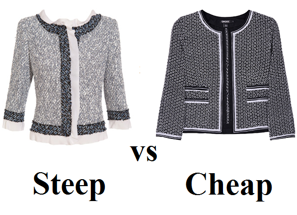 Steep vs Cheap: Chanel-inspired bouclé jackets