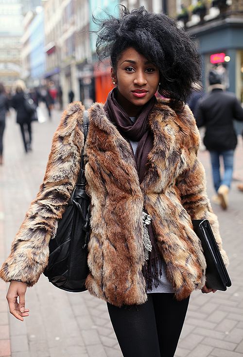 Street Style: animal instinct
