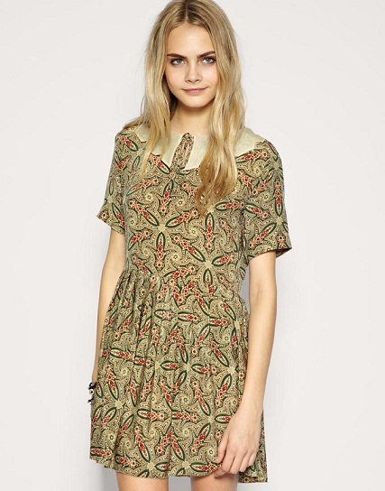 Lunchtime buy: TBA exclusive silk paisley dress
