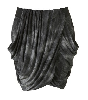 Lunchtime buy: Topshop printed drape skirt