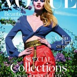 Lara Stone covers Roitfeld's penultimate Vogue Paris