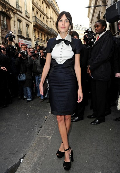 Get the look: Alexa Chung in Chanel Couture
