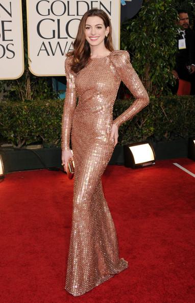 best.anne .hathaway.giorgio.armani Golden Globes 2011: best dressed
