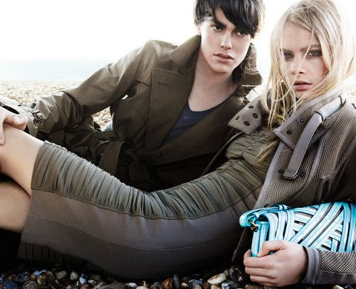 First look: Burberry Prorsum's SS11 campaign