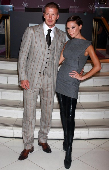 Victoria Beckham's pregnant!