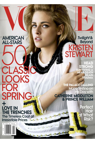 Kristen Stewart lands first Vogue cover