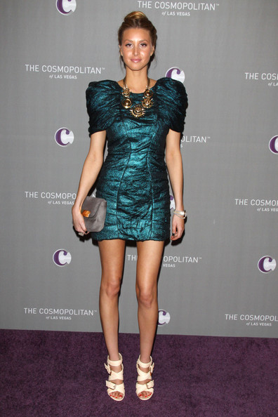 Whitney Port in Monique Lhuillier