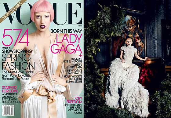 Lady Gaga on McQueen and looking like Isabella Blow