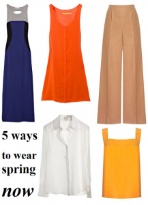 5 ways to wear spring now