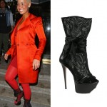 Love or hate? Amber Rose in Gianmarco Lorenzi boots