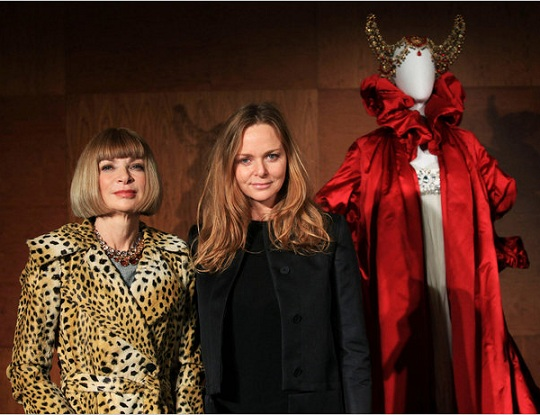 Anna Wintour and Sam Cam launch the Met's McQueen exhibition