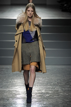 London Fashion Week AW11: Aquascutum