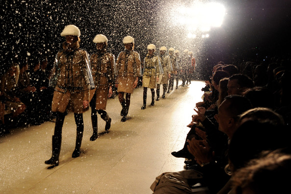 London Fashion Week AW11: Burberry