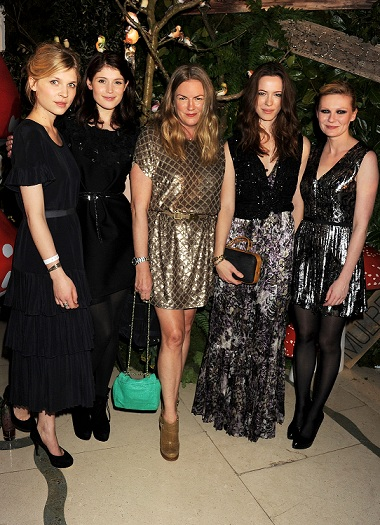 Mulberry's star-studded woodland after party