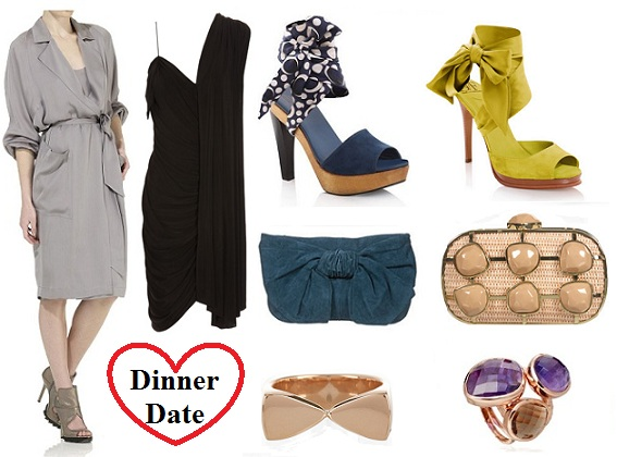 What to wear on Valentine's day: dinner date