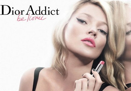 Kate Moss is the new face of Dior Beauty