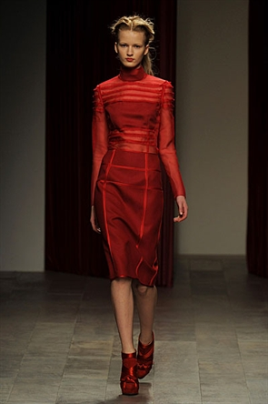 London Fashion Week AW11: Emilio de la Morena