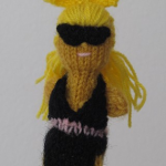Lady Gaga becomes a finger puppet