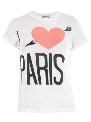 Lunchtime buy: Wildfox 'I Love Paris' T-shirt
