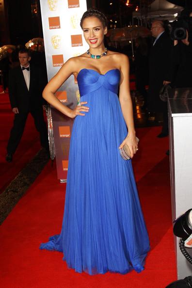 jessica alba 2011 blue dress. Jessica Alba1 BAFTAs 2011 best