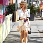 Kelly Osbourne turns to Marilyn Monroe for style inspiration