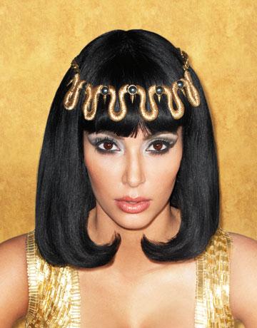 Kim Kardashian channels Liz Taylor in Harper's Bazaar