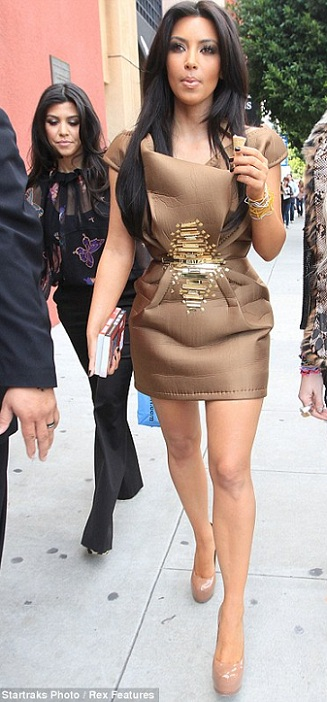 Yay or nay? Kim Kardashian's fashion-forward look