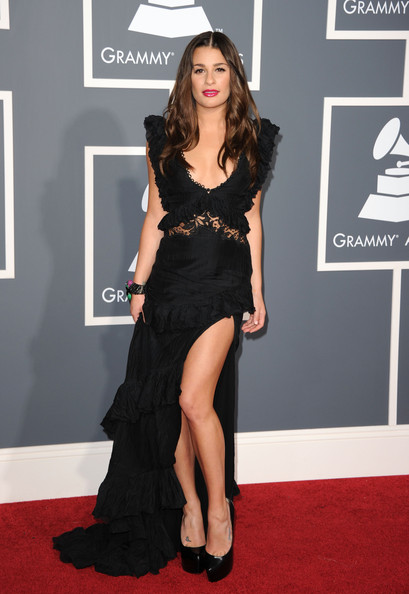 Grammys 2011 best dressed: Lea Michele