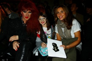 Jodie Harsh; Mel Blatt and her daughter