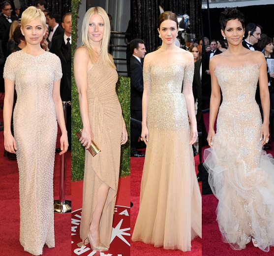 Oscars 2011: the trends – nude