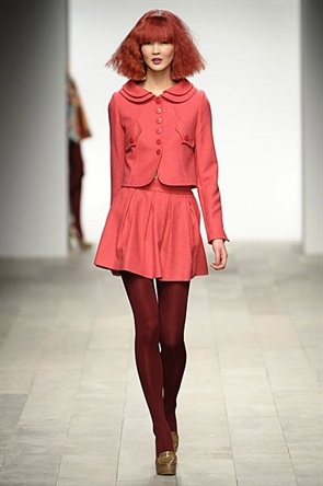London Fashion Week AW11: Paul Costelloe