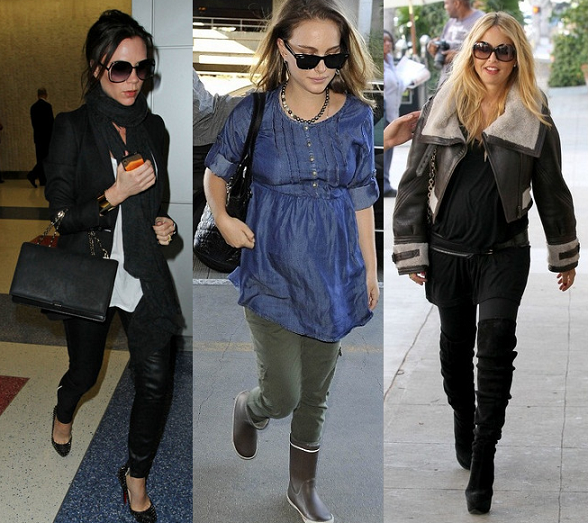 Get the look pregnancy special: Victoria Beckham, Natalie Portman and Rachel Zoe