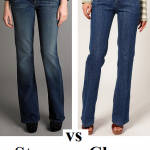 Steep vs Cheap: wide leg jeans