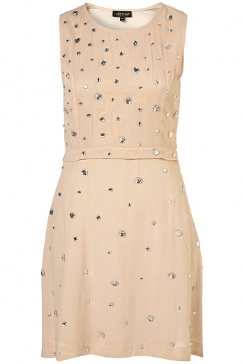Lunchtime buy: Topshop nude gem dress
