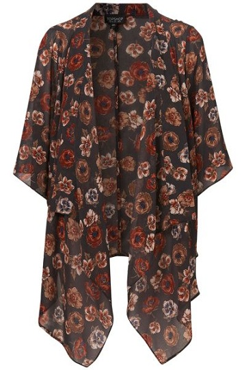 Lunchtime buy: Topshop floral kimono