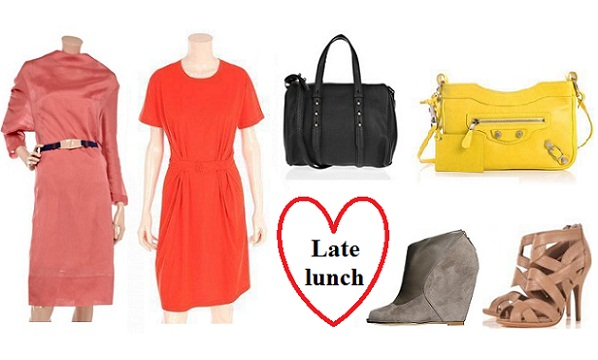 What to wear on Valentine's Day: late lunch