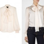 Lunchtime Buy: D&G Tie Neck Chiffon Blouse