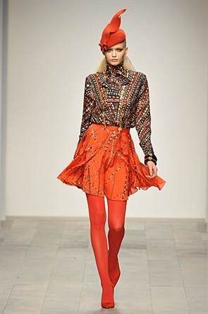 London Fashion Week AW11: Issa
