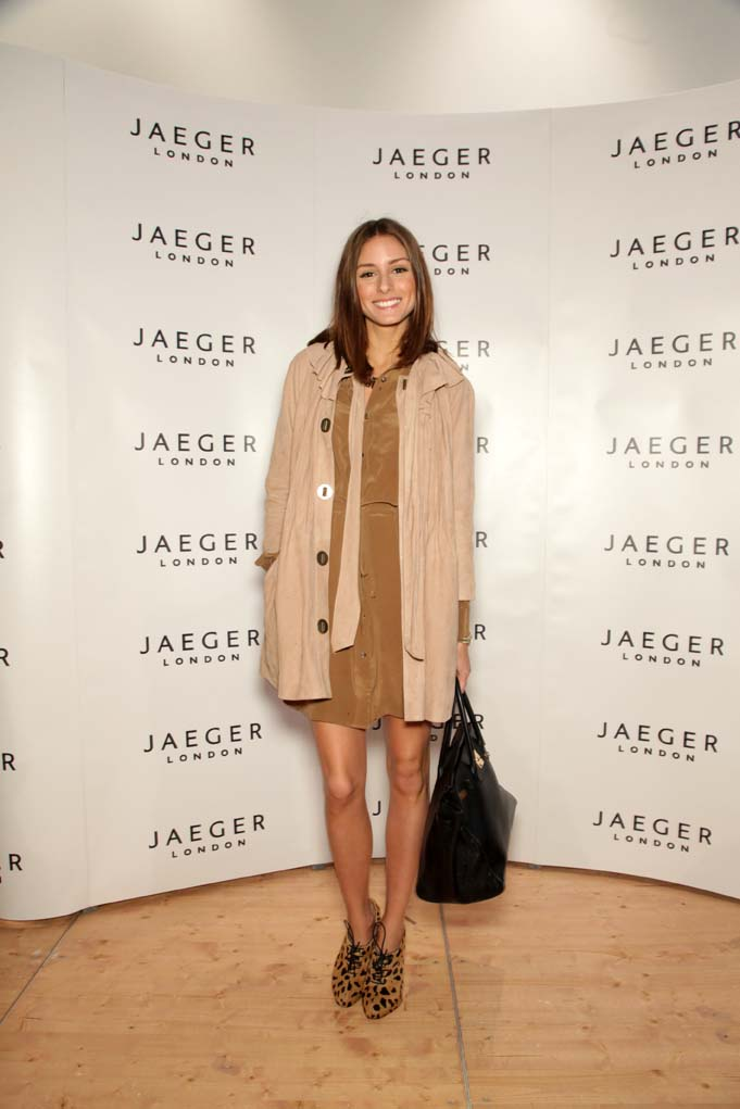 Olivia Palermo looks polished in Reiss