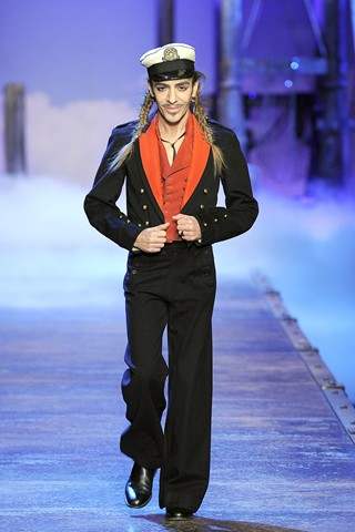 Update: John Galliano has been suspended from Dior