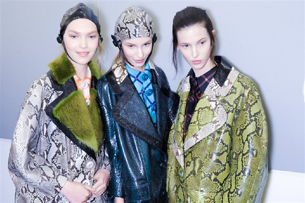 Milan Fashion Week AW11: Prada and Emporio Armani