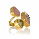 Lunchtime buy: Aamaya by Priyanka triple stone ring