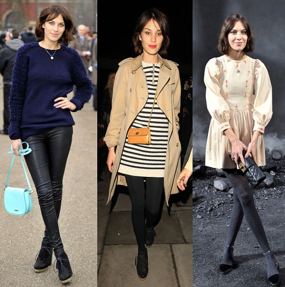 Get The Look: Alexa Chung Fashion Week special