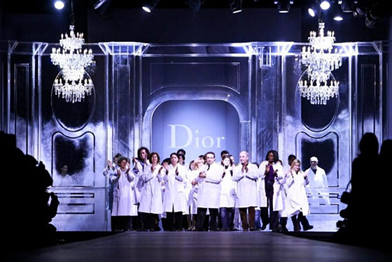 Dior presents Galliano's last ever collection