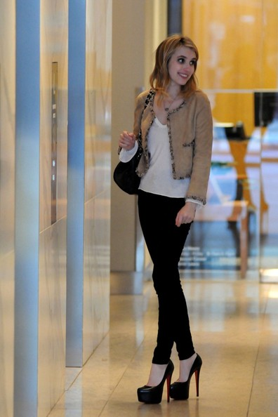 Emma Roberts is chic in Chanel