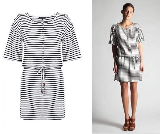 Lunchtime buy: French Connection stripe slouch dress