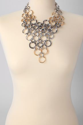 Lunchtime buy: French Connection multi-ring necklace